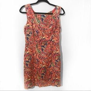 Talbots Lined Floral Dress